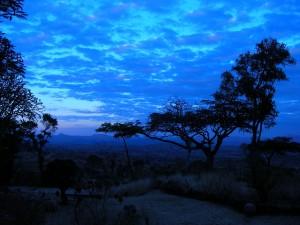 Nkhoma village at dawn.