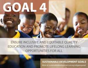 Goal 4 of the Sustainable Development Goals.