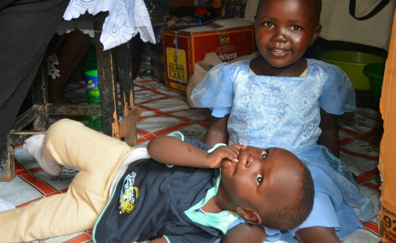 Morgan from Kenya was diagnosed with bilateral congenital cataracts.
