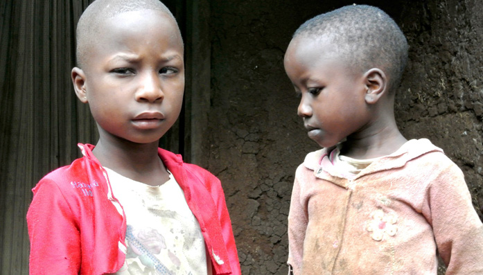 Vaileth & Susana both have cataracts and were treated by CBM's partner in Tanzania