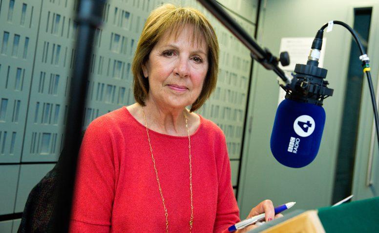 Penelope Wilton recording a Radio 4 appeal for CBM