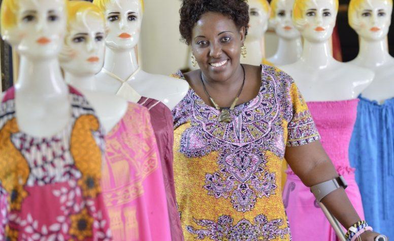 Jemimah, 37, a disability activist who attended CBM training (Kenya)