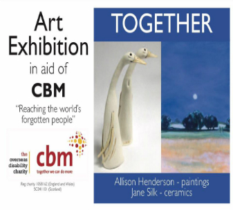 Cambridge art exhibition to celebrate CBM UK's 21st birthday