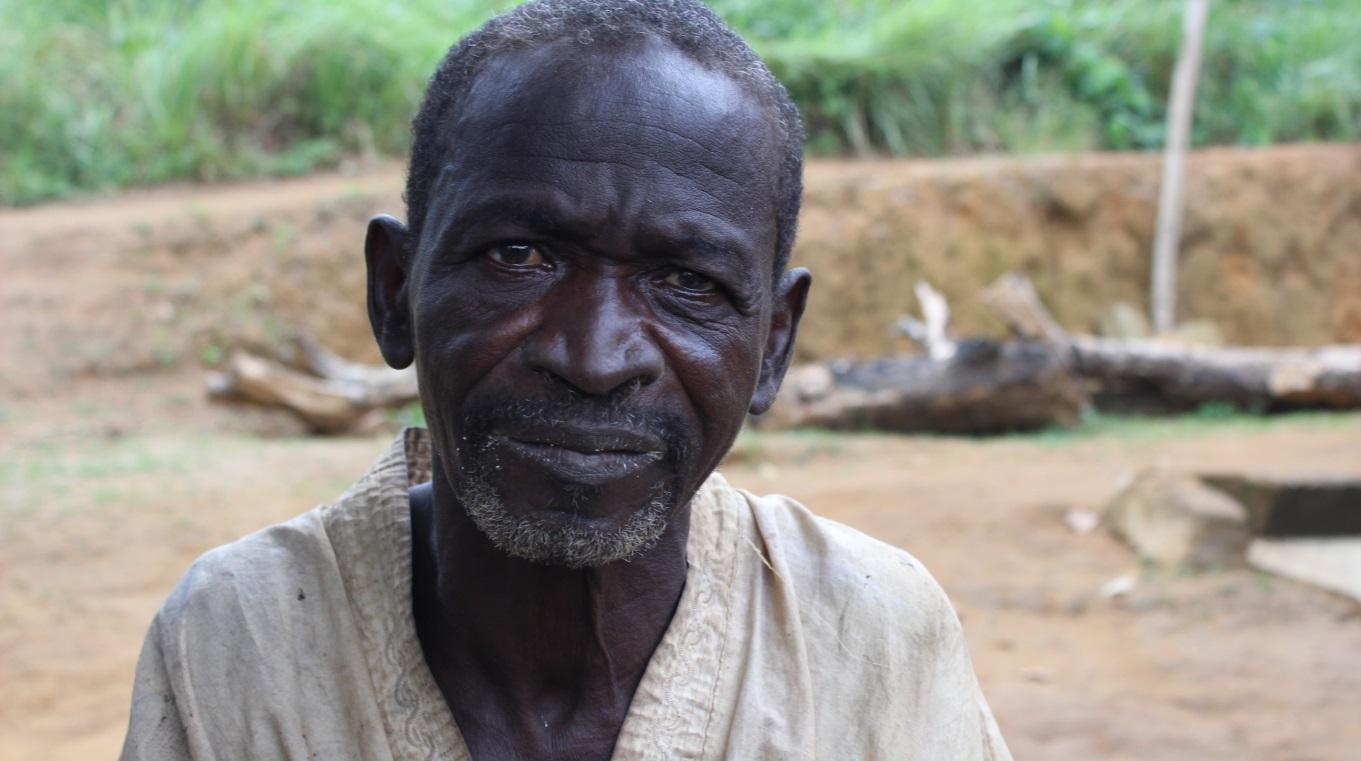 Gondo is from Burkina Faso and is visually imapired.