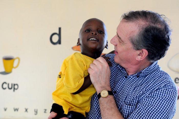 Prof. Dr. Allen Foster visiting Manzese, Tanzania