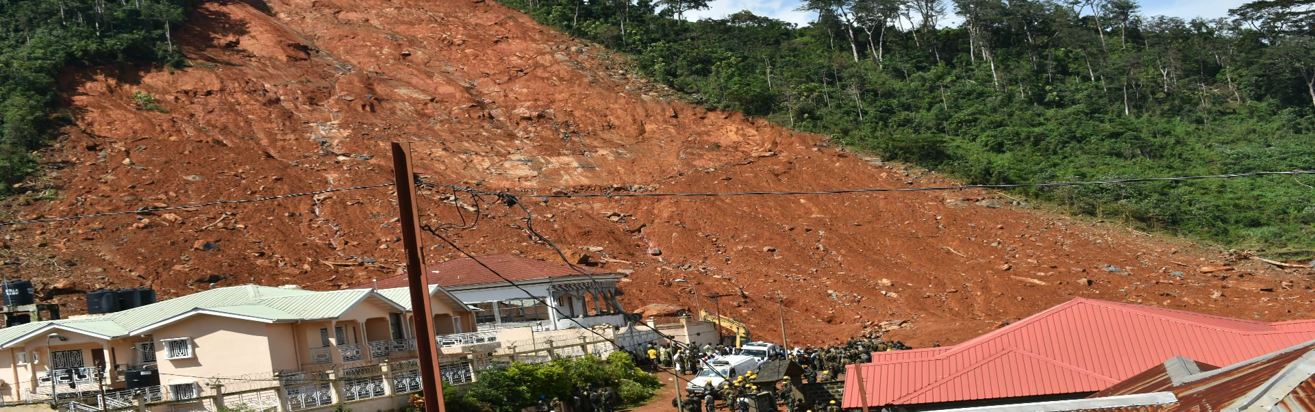 Support people affected by the mudslides in Sierra Leone