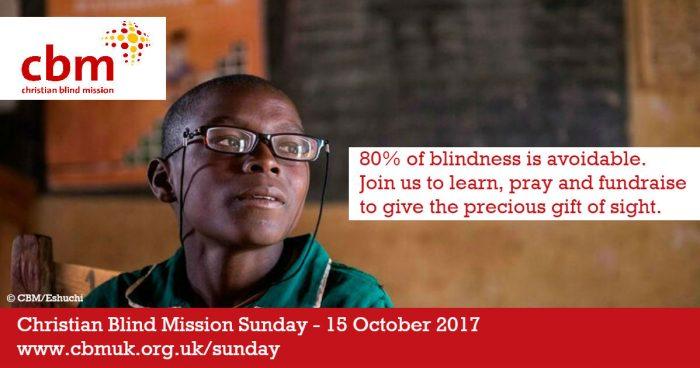 Christian Blind Mission Sunday social media pack