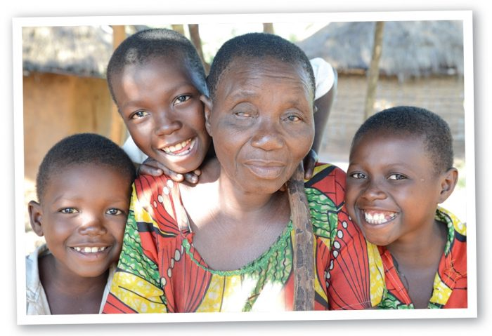 you can prevent river blindness and give Berthine hope that her grandchildren are protected.