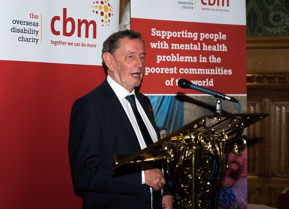 Lord Blunkett speaking