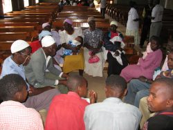 A self-help group in Kenya, formed by BasicNeeds to offer support to people with mental illnesses.