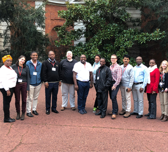 Members of BasicNeeds UK, Kenya and Ghana come together with partners from Ghana, Kenya and Nigeria for a lessons learned workshop at the Commonwealth Foundation in London.