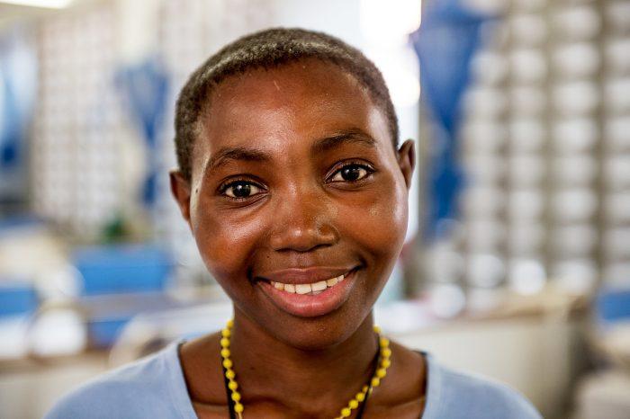 Merina has had corrective surgery for fistula at a CBM-supported hospital in Tanzania.