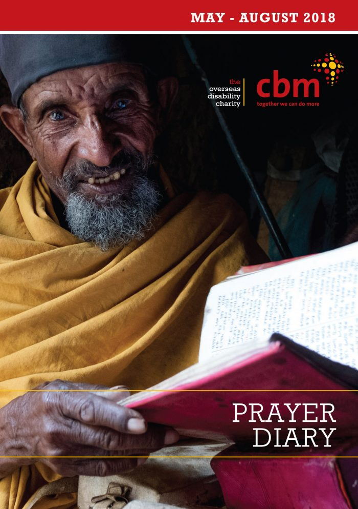 Front cover of May-August 2018 Prayer Diary