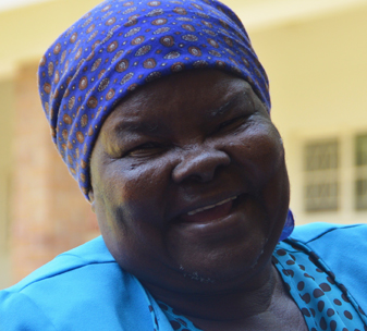 Violet lives in Zimbabwe lost her sight 5 years ago. Violet is being supported by CBM.