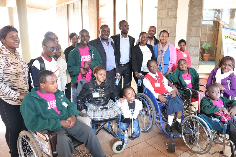 Children with disabilities at the Kenya pre-summit (photo from Save the Children International)