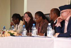 Panel of delegates at Kenya mini-summit