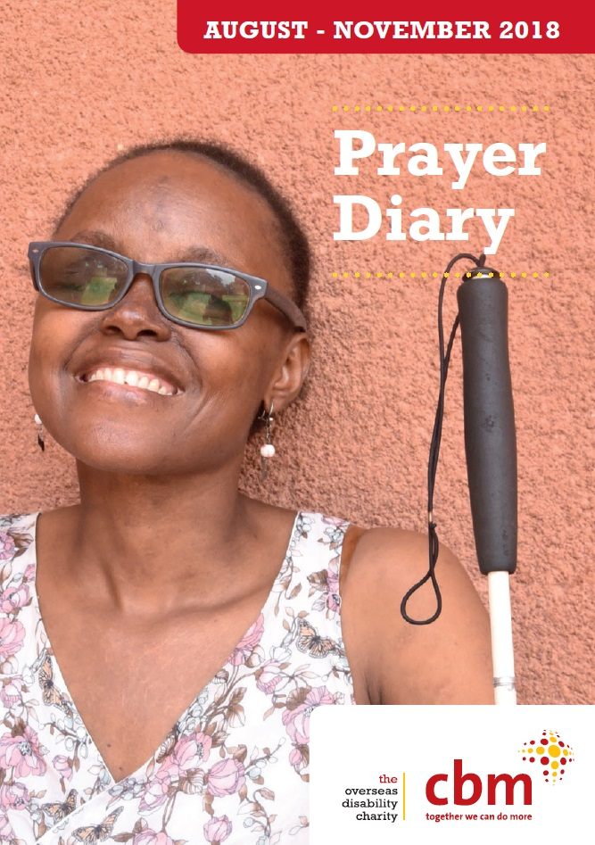 Prayer Diary front cover image