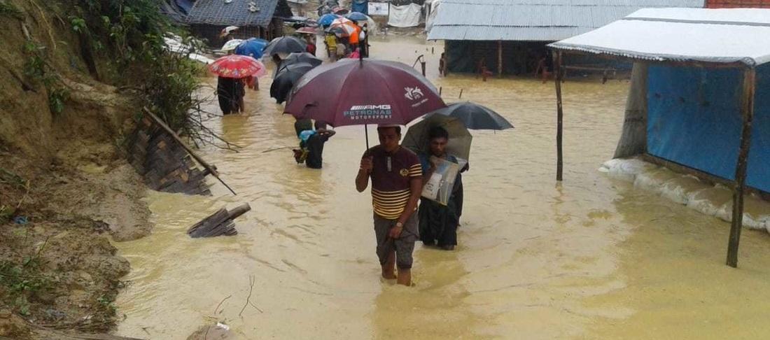 Rohingya monsoon floods