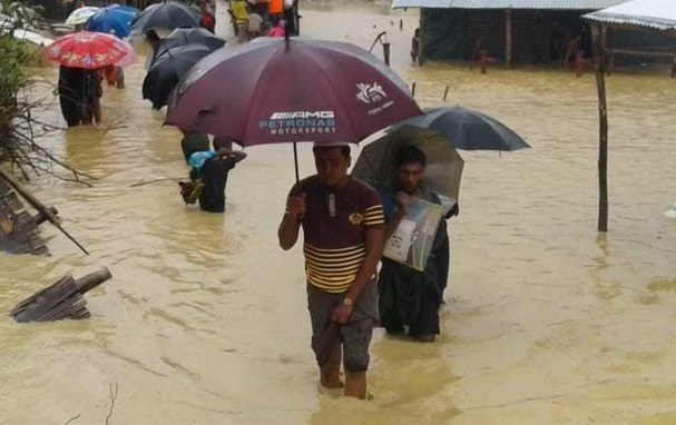 Rohingya monsoon floods