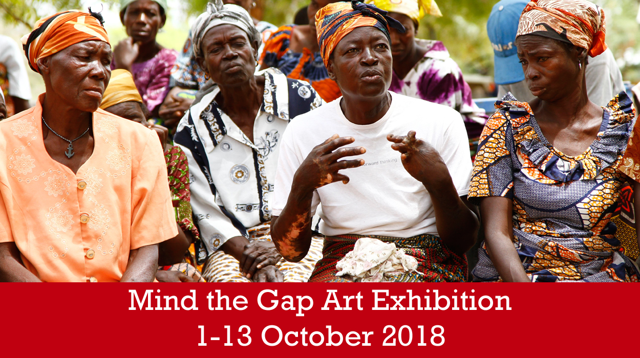 Mind the Gap Art Exhibition in Cambridge 1st-13th October