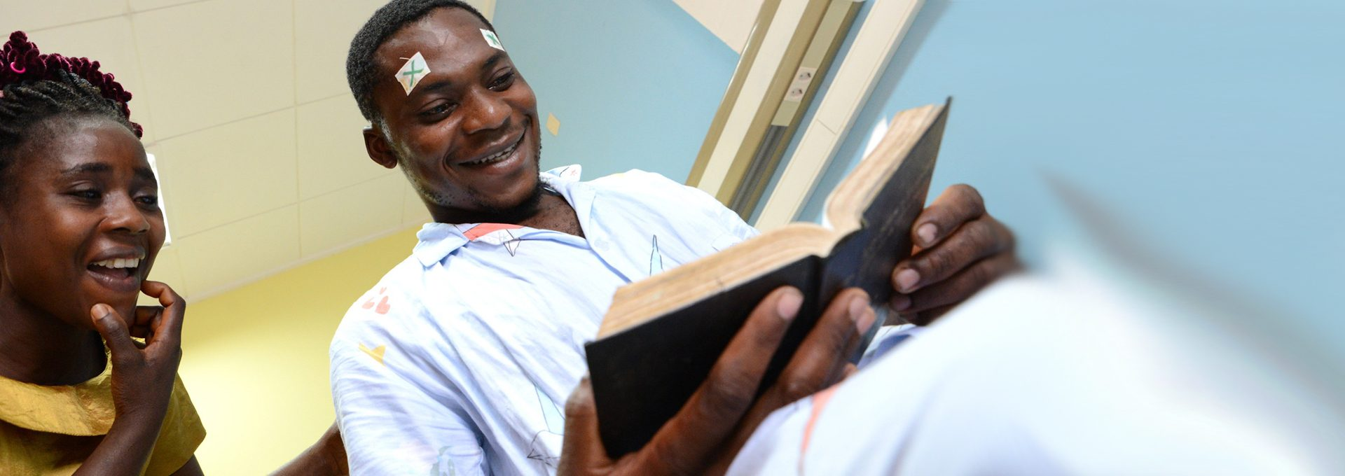 Desire reading the bible after successful cataract surgery