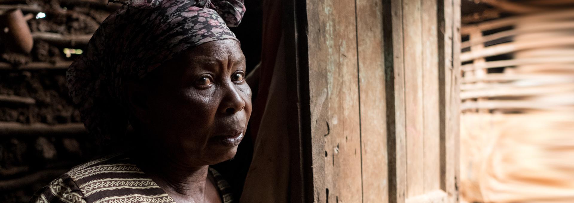 Elizabeth from Tanzania has Glaucoma.