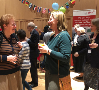 Supporters attend the launch of See The Way appeal in Cambridge