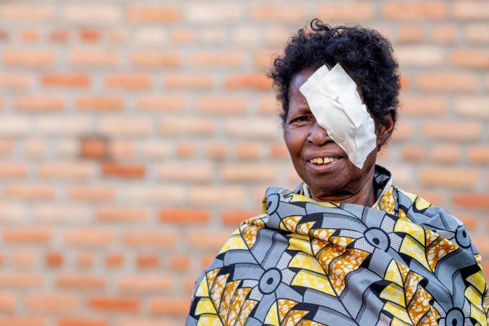 Kabgayi, Rwanda - 2019-05-01 -  Salomé at Kabgayi Eye Unit in Kabgayi, Rwanda, on May 1.