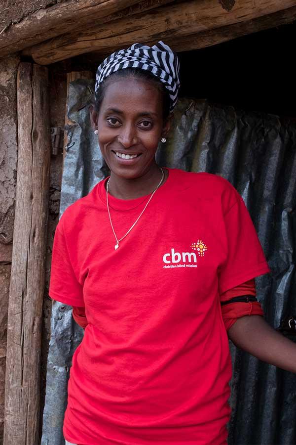 Debisa, CBM Community Health Outreach Worker