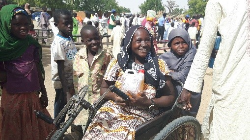 Zara was able to access humanitarian aid through an inclusive CBM project.