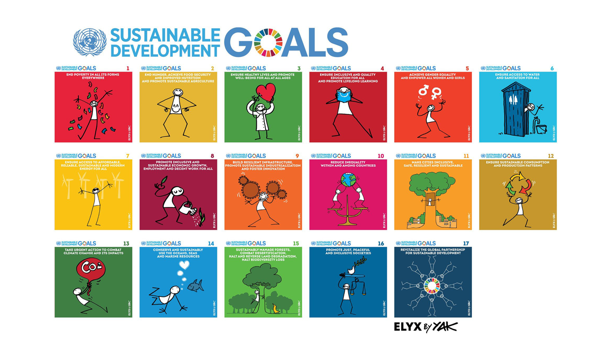 Sustainable Development Goals icons