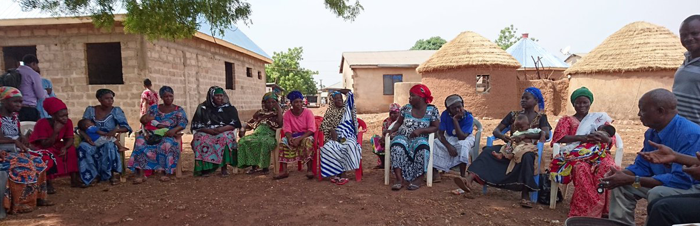 Mental health support group in Ghana for new and expectant mothers