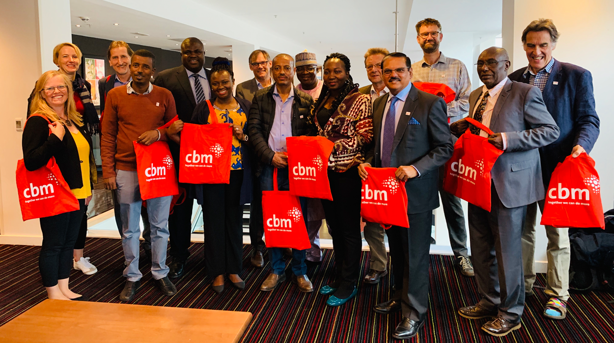 CBM staff, global advisors and partners at the NNN conference in Liverpool