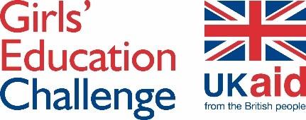 Girls Education Challenge UKAid logo