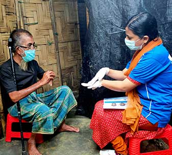 Supporting people with disabilities in Bangladesh during COVID-19