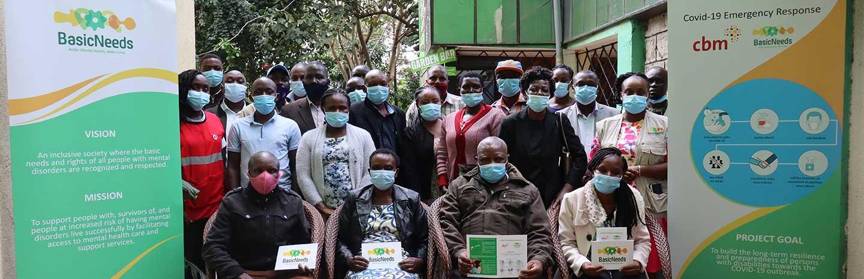 Community health workers attending mental health training in Bungoma County, Kenya. ©BasicNeedsBasicRightsKenya