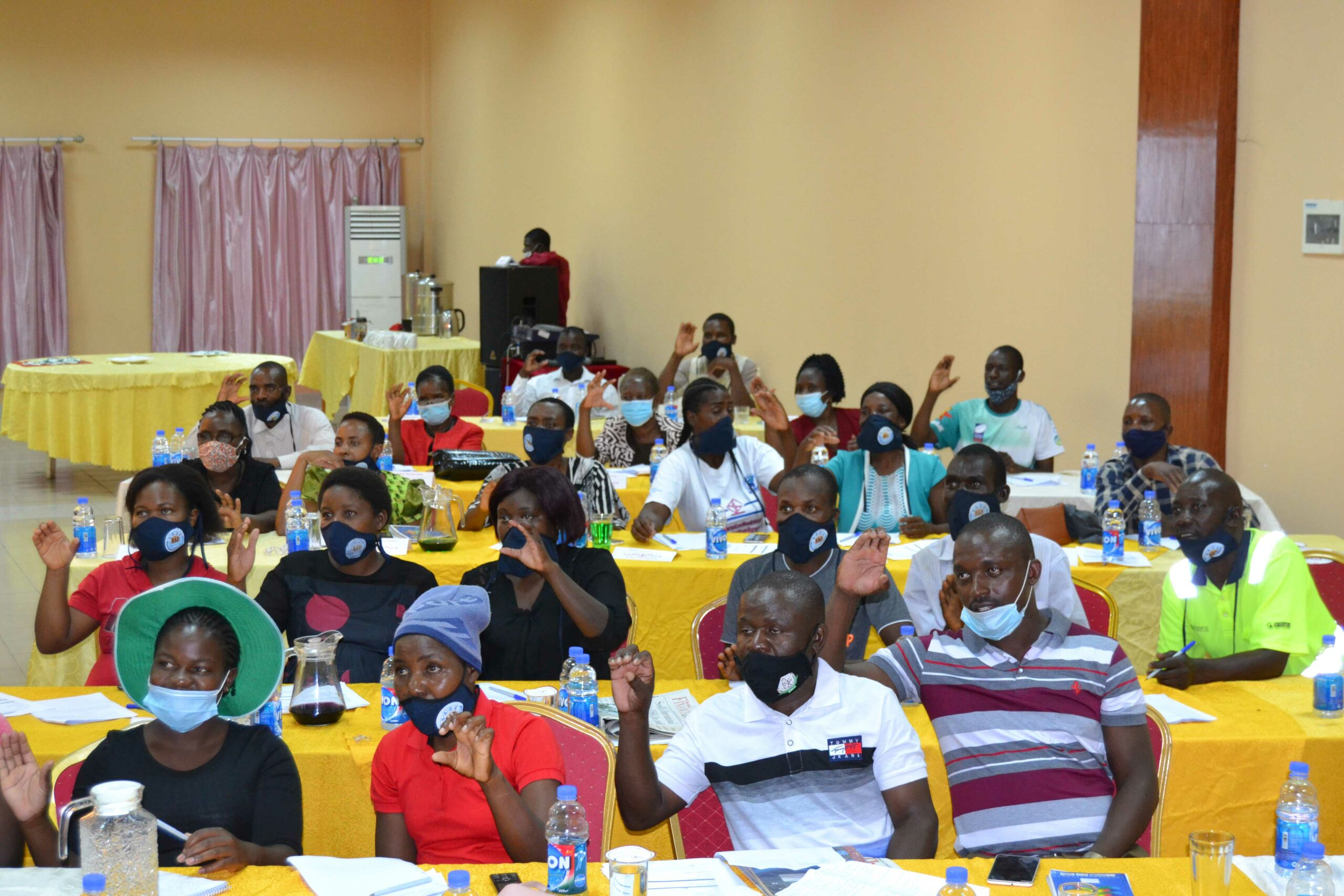 Community Educators attending training in Mutare