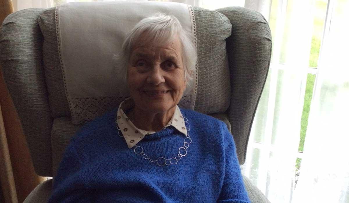 Margaret at home