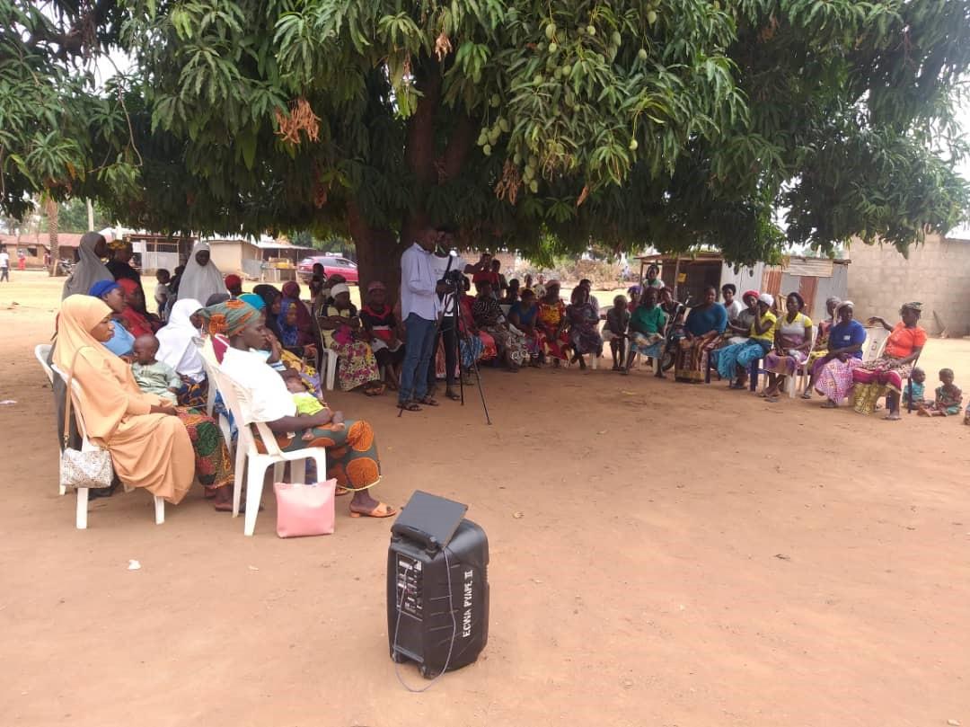 Community theatre performance